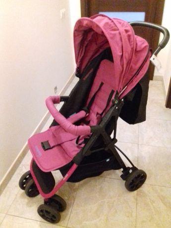 Wózek spacerowy Baby Design Click + osłona zimowa na nogi