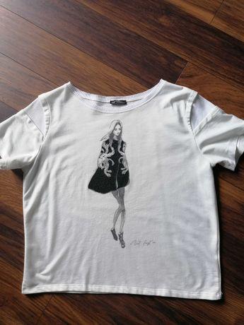 Bluzka z krótkim rękawem Zara