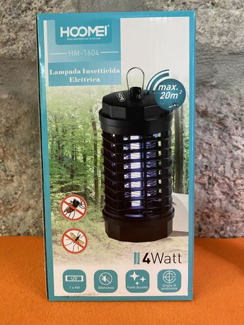 Lâmpada elétrica inseticida UV