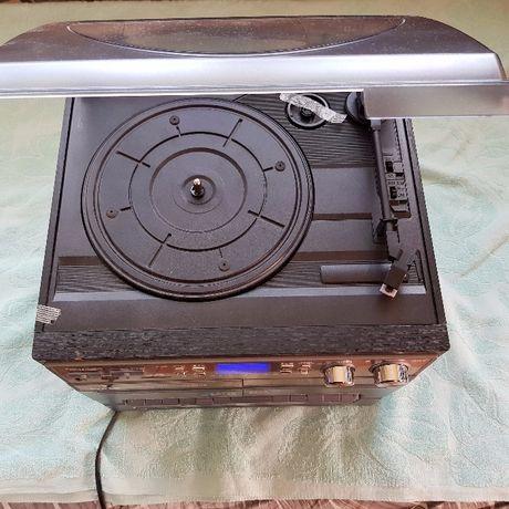 Auna TC-386 Wieża gramofon kaseta USB SD