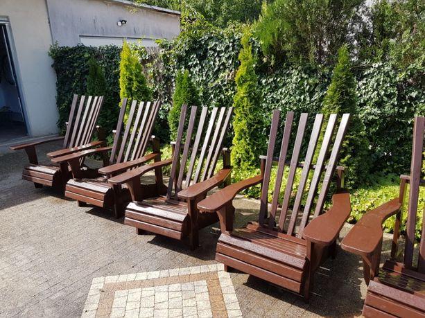 Porządne fotele krzesła ogrodowe malowane