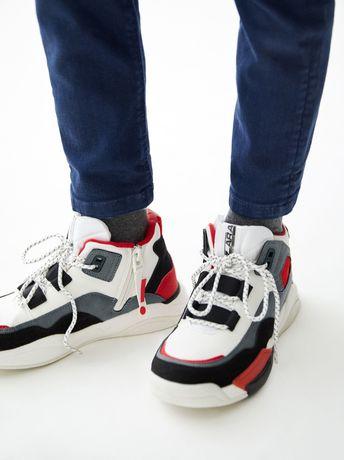 Sportowe buty ZARA adidaski modne 34/35