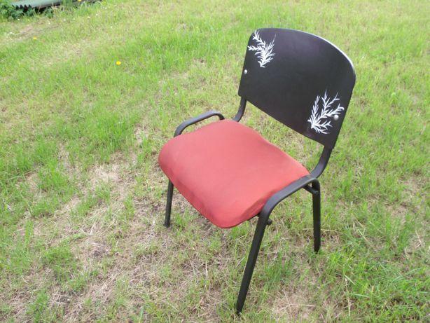 Krzesła mocne metalowe