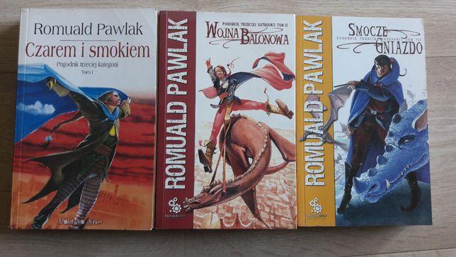 Romuald Pawlak Pogodnik trzeciej kategorii 3 tomy