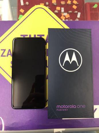 Motorola One Fusion + 128/6GB 5000mAh (jak Nowy Gwarancja Sklep)