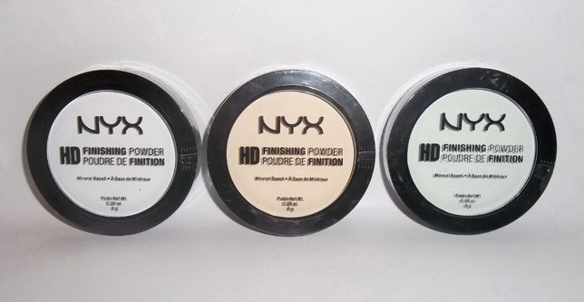 Фиксирующая пудра NYX Professional Makeup HD High Definition Finishing