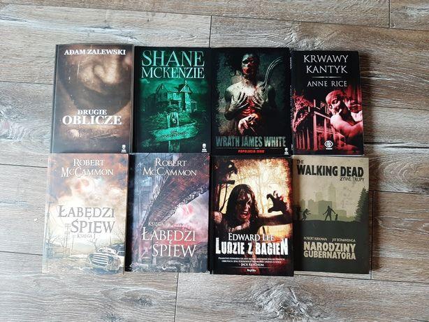 Książki horror różne tytuły