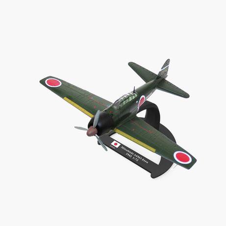 Avião II guerra Mundial Mitsubishi A6m Zero