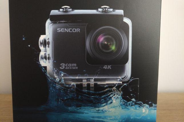 Kamera sportowa 4K UHD, SENCOR 3CAM 4K51WR, Wi-Fi, slow motion