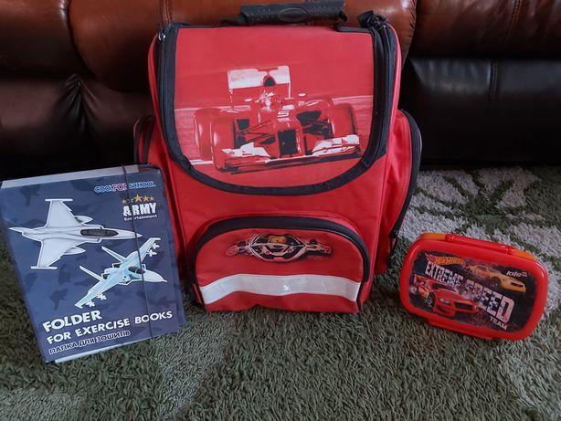 Рюкзак модный Zibi-   1-5 класс в подарок ланч бокс и папка для тетр.