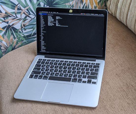 "MacBook Pro 2015 13"" 256gb 8gb RAM 2,7 GHz Dual-Core Intel Core i5"
