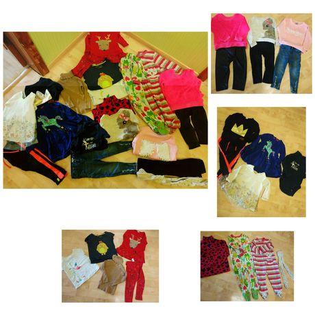 Комплект вещей футболка джинсы свитер платье НМ Next River Island Zara