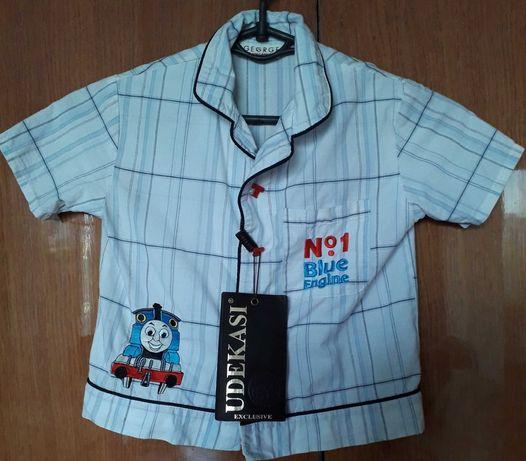 Рубашка детская брендовая! Вся инфо на бирках