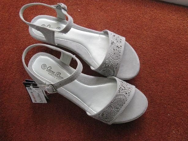 Nowe sandały damskie rozmiar 38