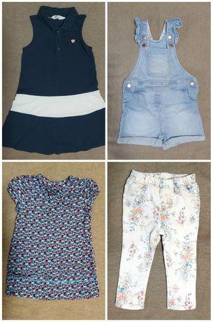 Одежда для девочки 2года 2-3 ,4-6 Платье,Джинсовый комбенизон джинсы