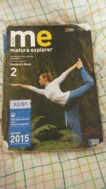 Podręcznik do j. angielskiego ME MATURA EXPLORER 2
