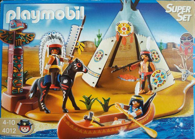 Wioska indiańska playmobil.