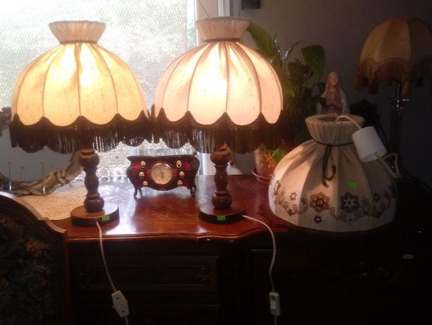 2 lampki i żyrandol _ Francja (K.503)