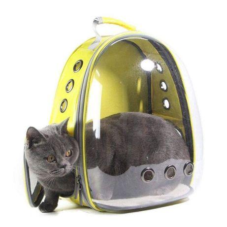 Рюкзак переноска для кошки собаки, сумка для кота, кролика, животных