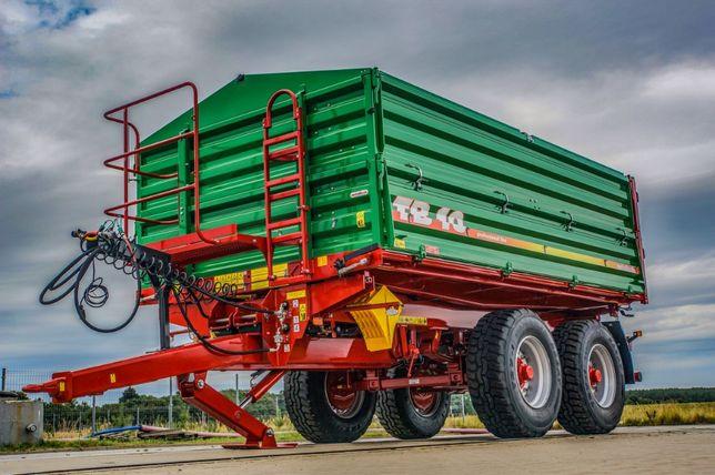 Przyczepa rolnicza tandem burtowy METALTECH TB 10 ton | TB 12, TB 14