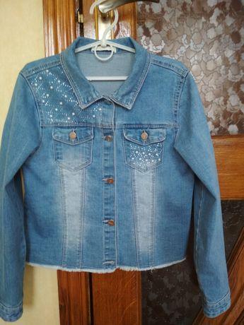 Джинсова курточка - піджак