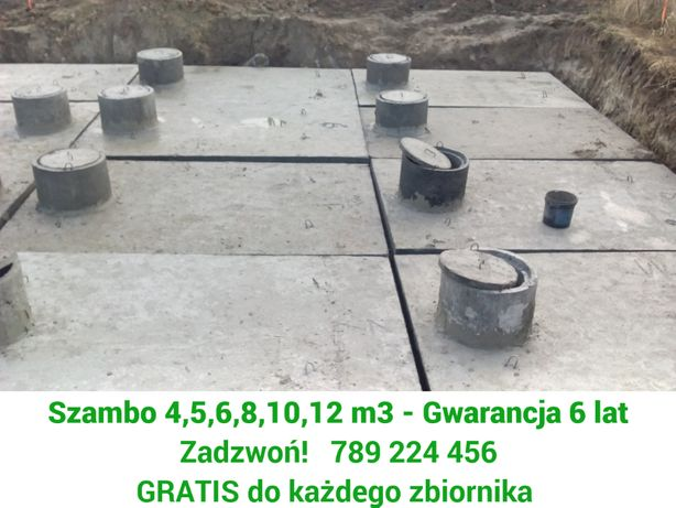 Szamba, Szambo Betonowe, Lublin, Niemce - 4,5,6,8,10,12m3 - tanio