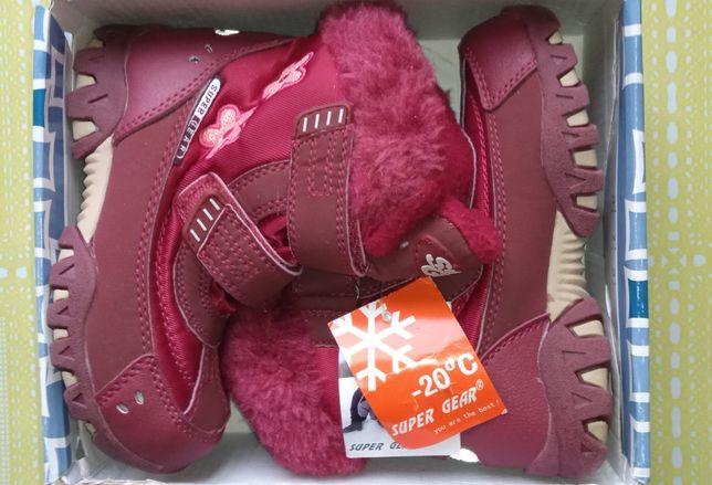 Ботинки зимние для девочки детские ботинки Венгрия