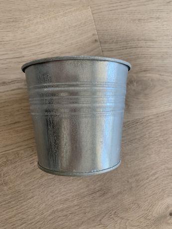Doniczka metalowa 11,5cm