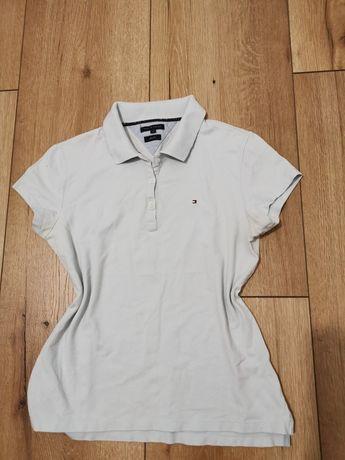 Koszulka Polo Tommy Hilfiger slim fit L Damska