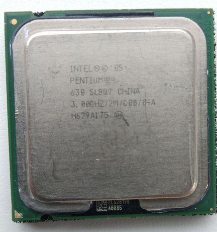 Процессор, пентиум 4; 3,000 Mhz;