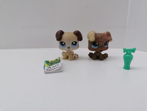 Littlest pet shop pieski +dodatki