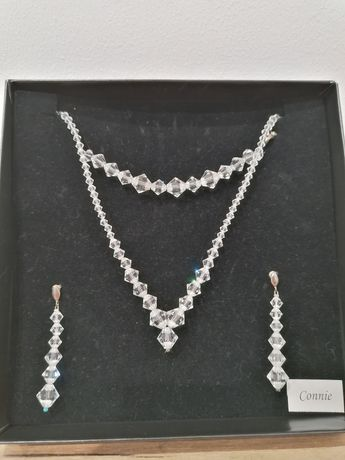 Komplet biżuterii Swarovski