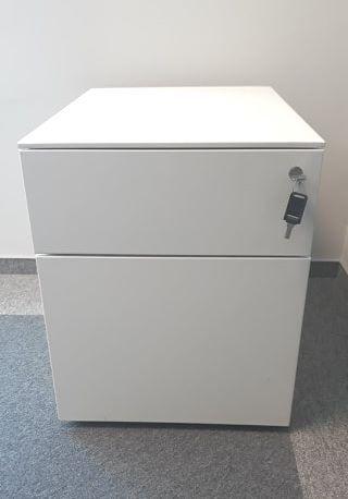 Kontenerki metalowe z szufladami pod biurko/stół