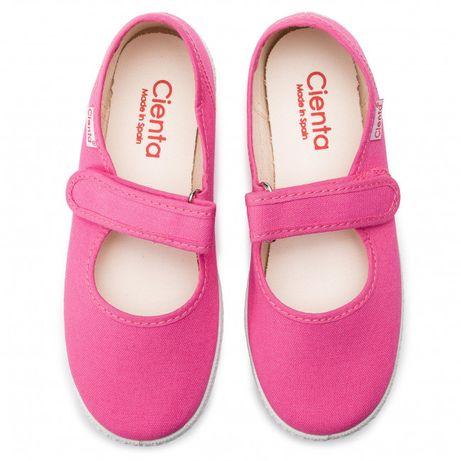 Sapatos Merceditas Rosa, CIENTA - Tam. 29 - NOVAS