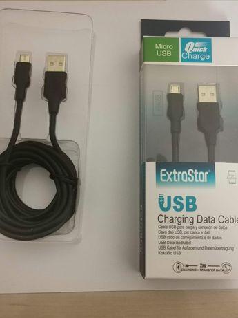 Cabo micro USB 2metros 5€