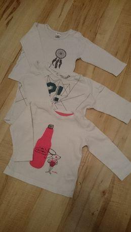 Ubrania chłopięce dla chłopca paczka r.68 H&M Coolclub Coccodrillo C&A