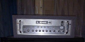 Head LINE 6 HD 750 plus footswitch MK II - zamiana