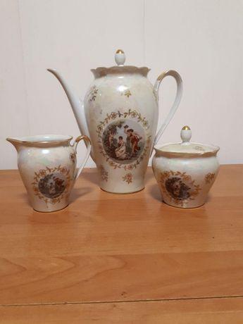 Форфоровий набір посуду для кави (Kahla)