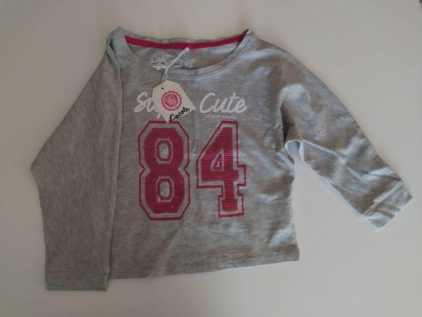 Bluza dla dziewczynki 104 nowa 5.10.15