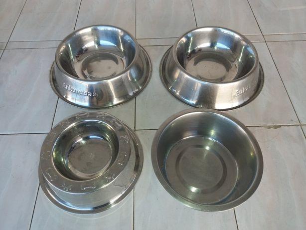 Comedouros para animais (cães e gatos) INOX