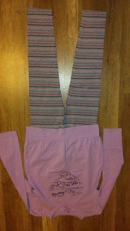 bluzka i leginsy na 140 cm
