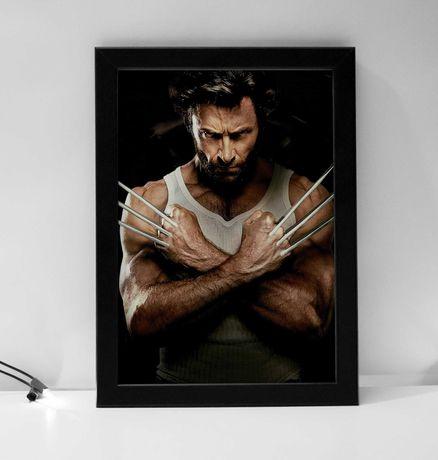 Quadro poster decorativo Wolverine
