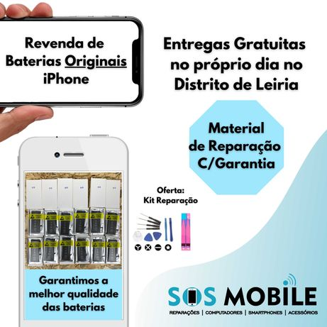 Bateria Original Apple iPhone 6 7 8 x 11
