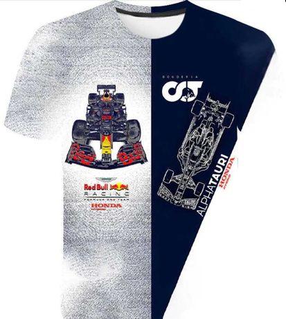 T-Shirt z nadrukiem Red Bull Racing AlphaTauri F1