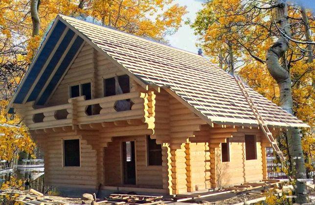 Дерев'яний домік сруб продам або обмін на авто