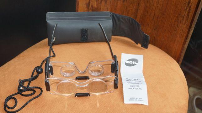 Okulary lornetkowe COIL - dla osób słabowidzących 2 x