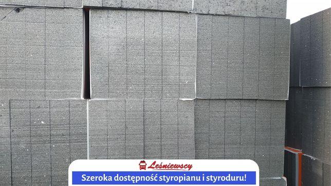 STYROPIAN fasadowy elewacyjny 033 GRAFIT 167,5zł/m3 izolacja Transport