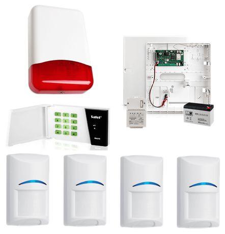 Sprzedam alarm Satel micra + pilot + czujki + sygnalizator