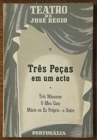 teatro de josé régio, v, três peças em um acto