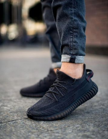 Кроссовки Adidas Yeezy Boost 350 V2 Black Full Reflective !ТОП! 41-45р